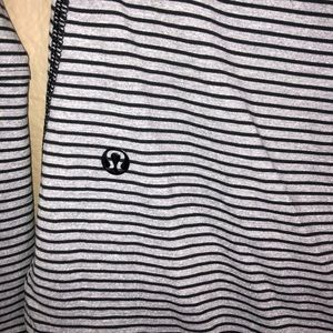 lululemon athletica Tops - LULULEMON | Striped Awesoma Henley L/S Button Top
